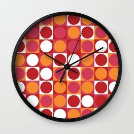 Retro Circle Wall Clock