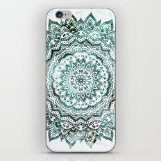 Emerald Jewel Mandala iPhone & iPod Skin
