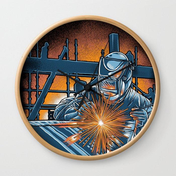 I'm Welder Wall Clock