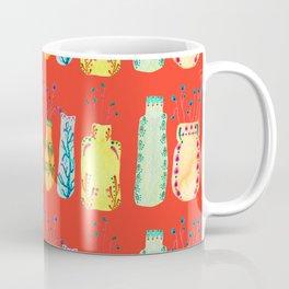 Bottle Pattern Coffee Mug
