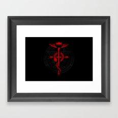 Full of Alchemy - Fullmetal alchemist Framed Art Print