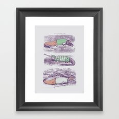Golf Buddies Framed Art Print