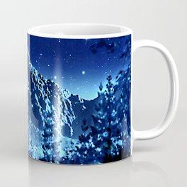 moonlight winter landscape Coffee Mug