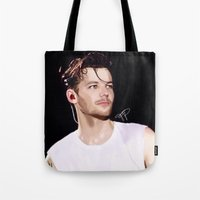 louis Tote Bags featuring Louis. by artisticfanny