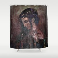 hamlet Shower Curtains featuring OPHELIA by mimulux