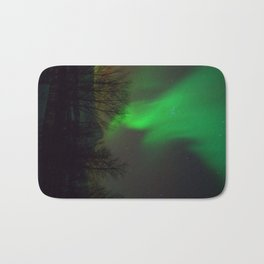 Northern Lights over Norway Bath Mat