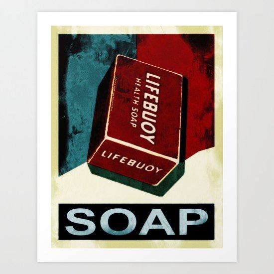Soap - 054 Art Print