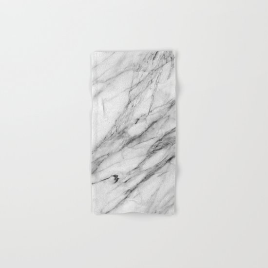 Carrara Marble Hand & Bath Towel