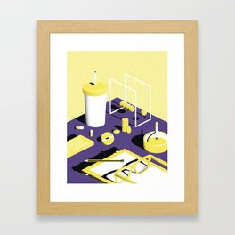 Chillin - 1 Framed Art Print