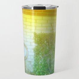 Damaged Disposable Camera Film - Hospital Wall Travel Mug