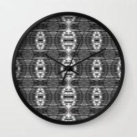 ikat Wall Clocks featuring ikat by a.r.r.p.