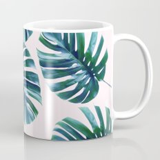 Monstera Pattern #society6 #decor #buyart Mug