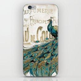 Peacock Jewels iPhone Skin