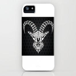black goat ecopop iPhone Case