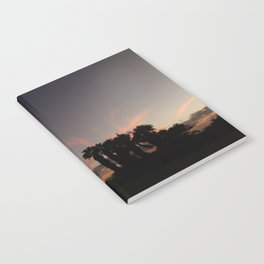 sunset in paradise Notebook