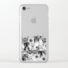just cats Clear iPhone Case