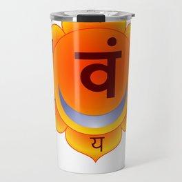 Svadhishthana Sacral Chakra Travel Mug