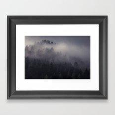 Eagle Mist Framed Art Print