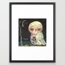 She Stands Out Framed Art Print