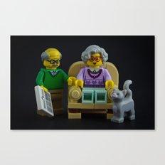 Chair Wars Canvas Print