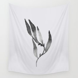 Baesic Mono Floral (Leaf 1) Wall Tapestry