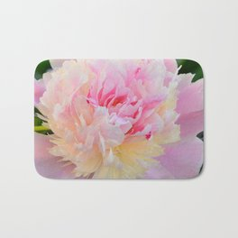 Joy of a Peony by Teresa Thompson Bath Mat
