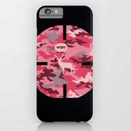 WTF? Ciervo! iPhone Case