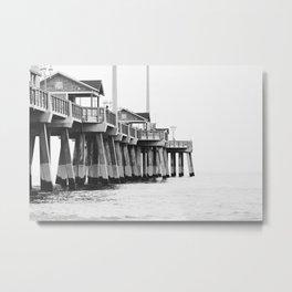 Jennette's Pier Metal Print