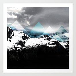 Mountains IV Art Print