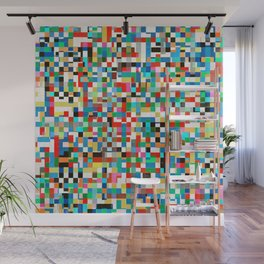 Messy Mosaic Wall Mural