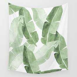 Tropical Leaves 2 Wall Tapestry