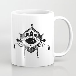 All Seeing Eye Bloom Coffee Mug