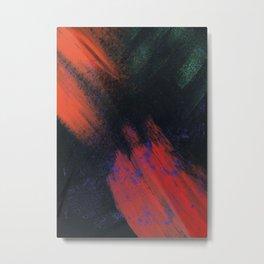 Abstract Printing 1 Metal Print
