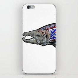 Marius Salmon iPhone Skin
