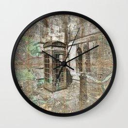 London Called Wall Clock