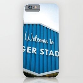 Welcome to Dodger Stadium | Los Angeles California Nostalgic Iconic Sign Art Print Tapestry iPhone Case