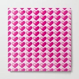 Hearts_D03 Metal Print