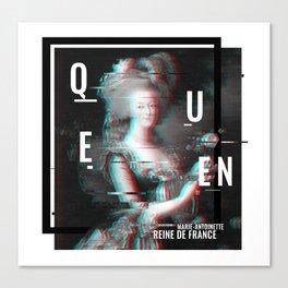 Marie Antoinette: Queen Canvas Print