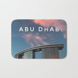 Abu Dhabi Bath Mat