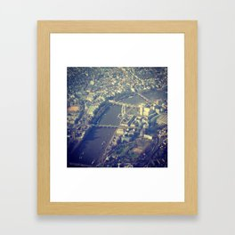 London Calling Framed Art Print