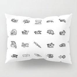 Tonalpohualli Pillow Sham