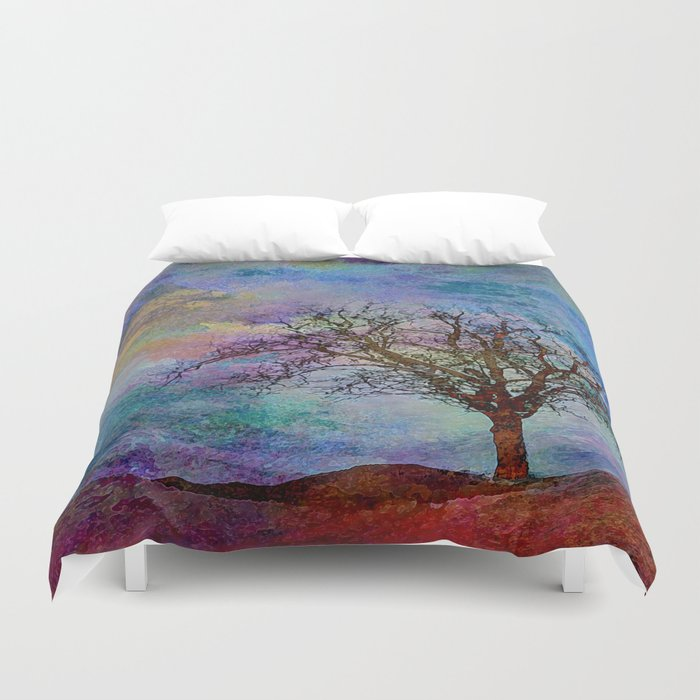 Alone yet Powerful Duvet Cover