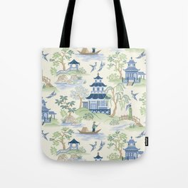 Chinoiserie Tote Bag