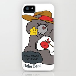 Hobo Bear iPhone Case