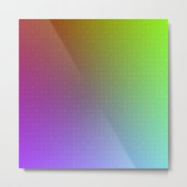 Beautiful Colors - Algorithmic Art Metal Print