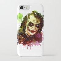 the joker iPhone & iPod Cases featuring Joker by Sirenphotos