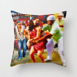 Guaguanco Throw Pillow