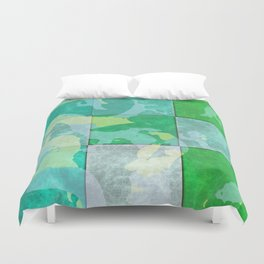 Tiled abstract Duvet Cover