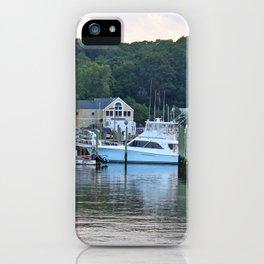 Marinas Of The World (Pt. 3 - Port Jefferson, New York) iPhone Case