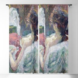 Henri de Toulouse-Lautrec - The Model Resting Blackout Curtain